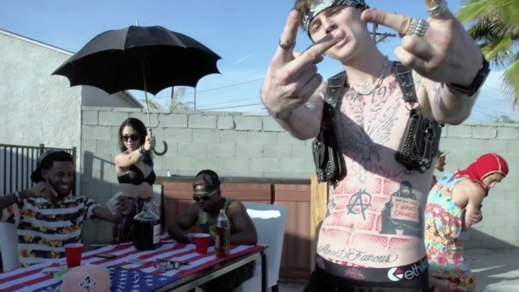 Ethika underwear worn by Machine Gun Kelly in SAIL (2014) - Official Music Video Product Placement