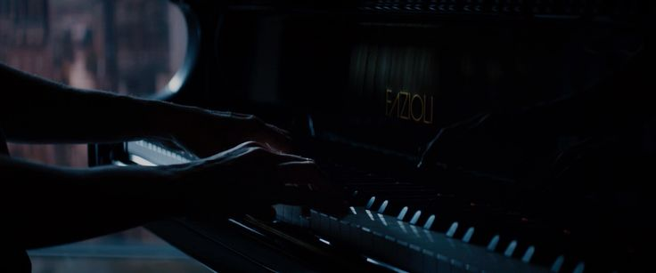 Fazioli grand piano in FIFTY SHADES OF GREY (2015) - Movie Product Placement