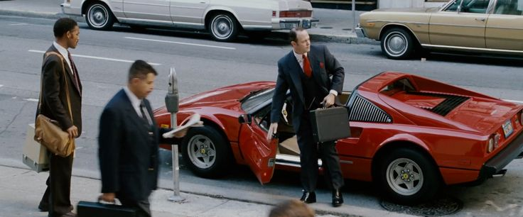 Ferrari 308 GTS (1977) car in THE PURSUIT OF HAPPYNESS (2006) Movie Product Placement