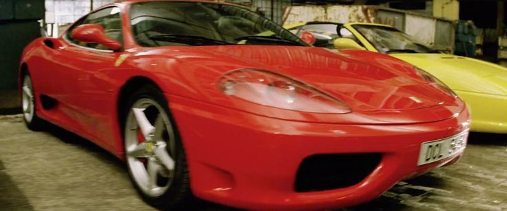 Ferrari 360 Spider car in xXx (2002) Movie Product Placement