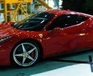 Ferrari 458 Italia Red Sports Car in TRANSFORMERS: DARK OF T...