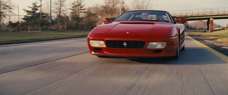 Red Ferrari 512 TR - The Wolf of Wall Street (2013) Movie Product Placement