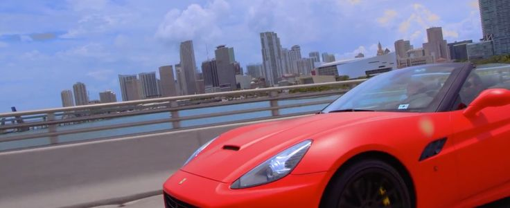 Ferrari California car in SUPREME by Rick Ross (2014) Official Music Video Product Placement
