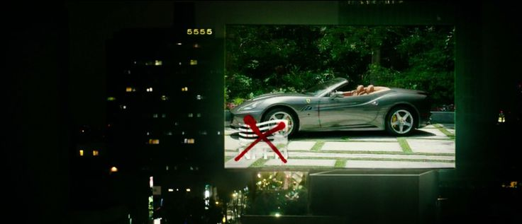 Ferrari California car in THE PURGE: ANARCHY (2014) - Movie Product Placement