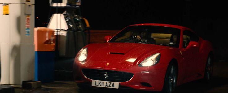 Ferrari California car in PLASTIC (2014) Movie Product Placement