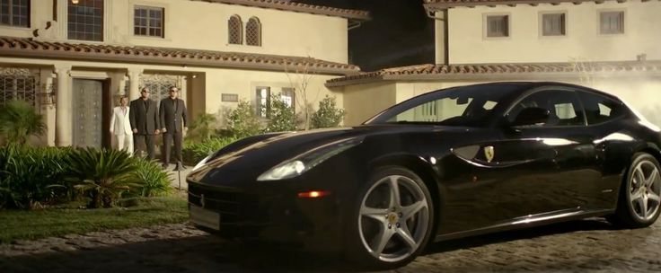Ferrari California car in HIGH SCHOOL by Nicki Minaj (2013) Official Music Video Product Placement