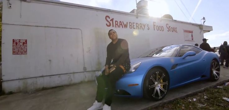 Ferrari California car in I DON'T GET TIRED by Kevin Gates (2015) Official Music Video Product Placement