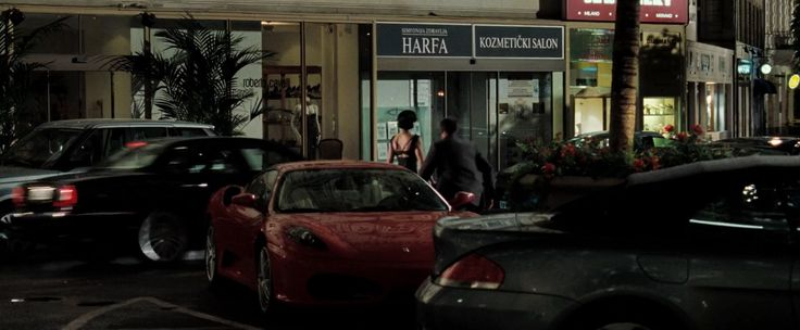 Ferrari F430 car in CASINO ROYALE (2006) - Movie Product Placement