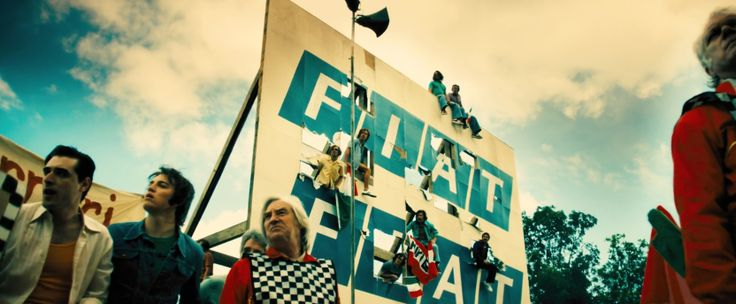 Fiat billboard in RUSH (2013) Movie Product Placement