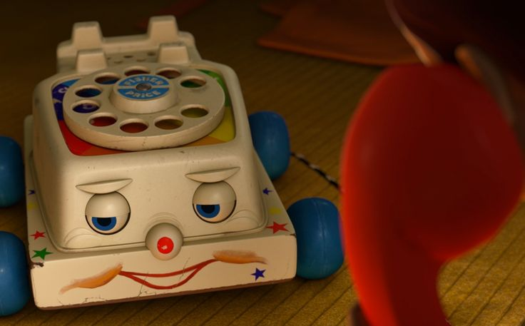 Fisher-Price Chatter Telephone - Toy Story 3 (2010) Cartoon and Animation Movie Product Placement