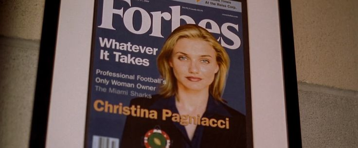 Forbes magazine in ANY GIVEN SUNDAY (1999) - Movie Product Placement
