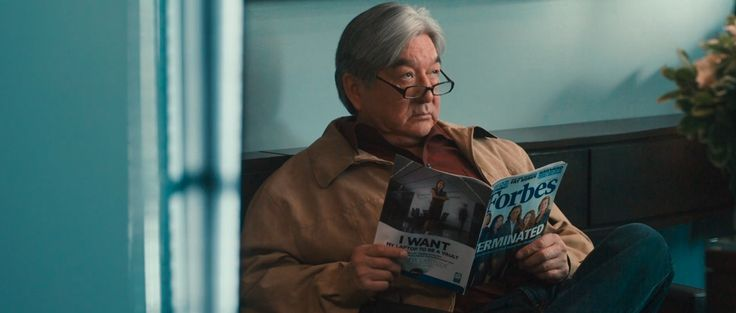 Forbes magazine read by Graham Greene in CASINO JACK (2010) Movie Product Placement