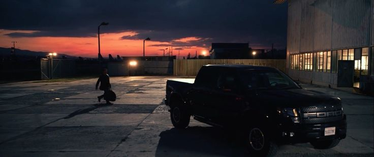 Ford F-150 SVT Raptor (2011) driven by Sylvester Stallone in The Expendables 3 (2014) - Movie Product Placement
