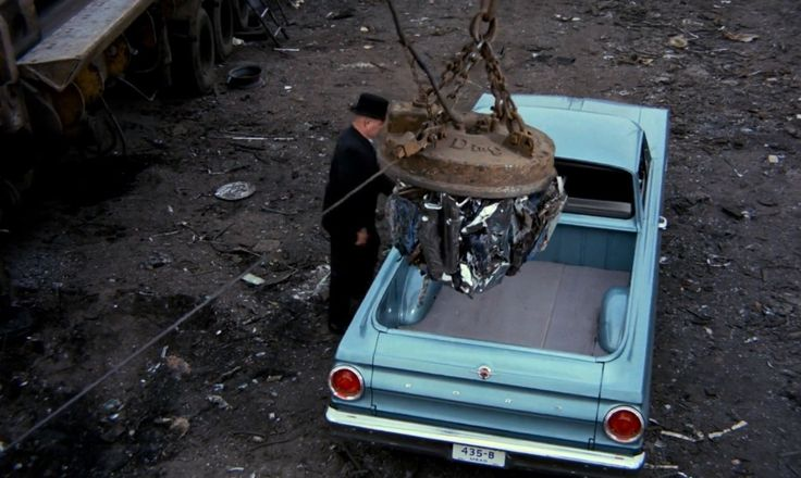 Ford Falcon Ranchero in GOLDFINGER (1964) - Movie Product Placement