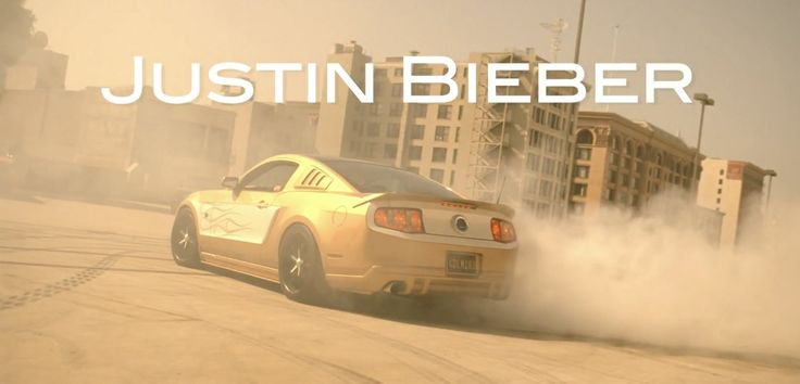 Ford Mustang car in BOYFRIEND by Justin Bieber (2012) - Official Music Video Product Placement