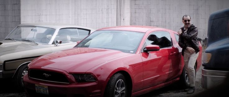Ford Mustang in WILD CARD (2015) Movie Product Placement