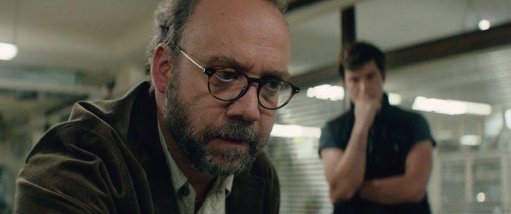 Giorgio Armani glasses worn by Paul Giamatti in SAN ANDREAS (2015) - Movie Product Placement