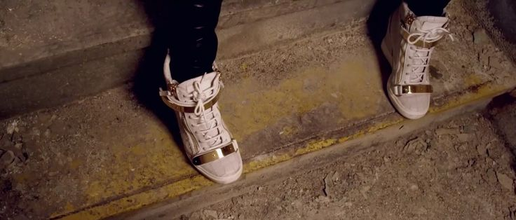 Giuseppe Zanotti sneakers worn by Jennifer Lopez in SAME GIRL (2014) Official Music Video Product Placement