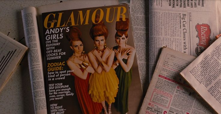Glamour magazine in MEN IN BLACK 3 (2012) Movie Product Placement