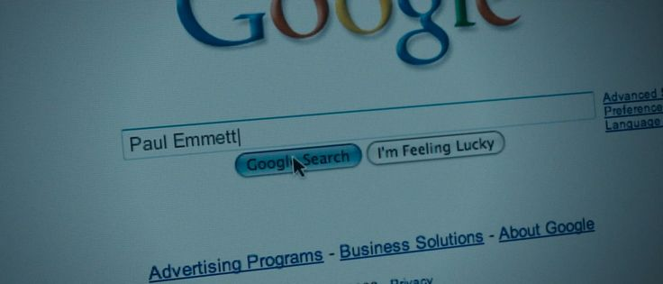 Google website in THE GHOST WRITER (2010) Movie Product Placement