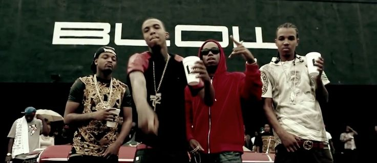 Gucci belt in MY HITTA by YG (2013) Official Music Video Product Placement