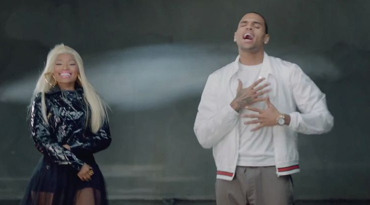 Gucci jacket worn by Chris Brown in RIGHT BY MY SIDE by Nicki Minaj (2012) - Official Music Video Product Placement