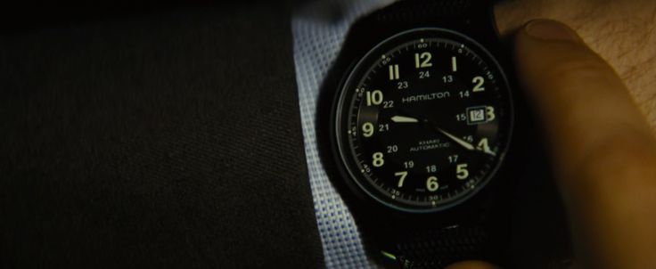 Hamilton Watches - Jack Ryan: Shadow Recruit (2014) Movie Product Placement
