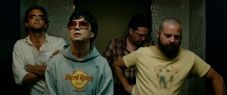 Hard Rock Cafe Bangkok hoodie and Mosley Tribes Bromley sunglasses worn by Ken Jeong  and Oliver Peoples Benedict sunglasses worn by  Bradley Cooper in THE HANGOVER PART II (2011) Movie Product Placement