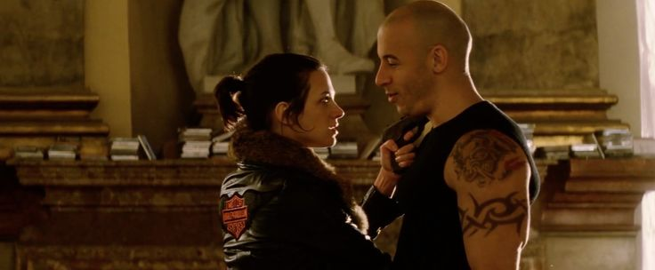 Harley-Davidson jacket worn by Asia Argento in xXx (2002) - Movie Product Placement