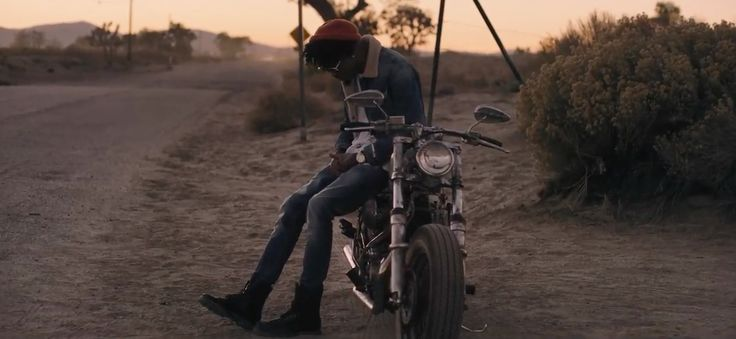 Harley-Davidson Sportster motorcycle in SONG CRY by August Alsina (2015) - Official Music Video Product Placement