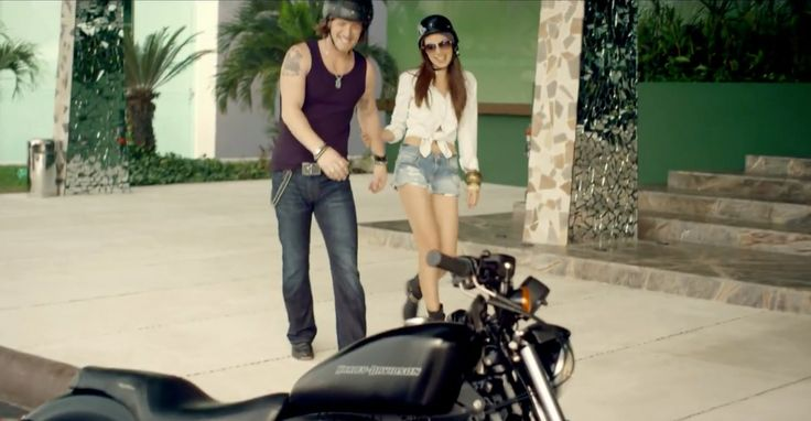 Harley-Davidson XL 883 Sportster in GET YOUR SHINE ON by Florida Georgia Line (2013) Official Music Video