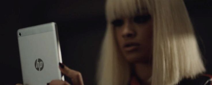 HP Slate 8 Plus tablet used by Rita Ora in BLACK WIDOW by Iggy Azalea (2014) Official Music Video Product Placement