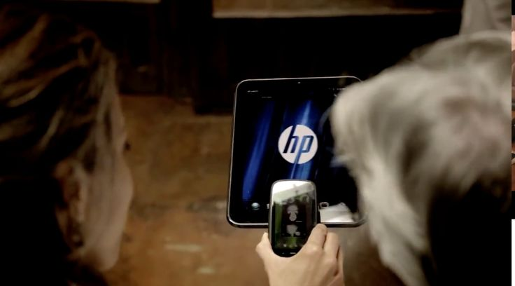 HP tablet and mobile phone in I NEED A DOCTOR by Dr. Dre (2011) Official Music Video Product Placement