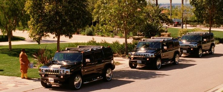 Hummer H2 Cars in BE COOL (2005) Movie Product Placement