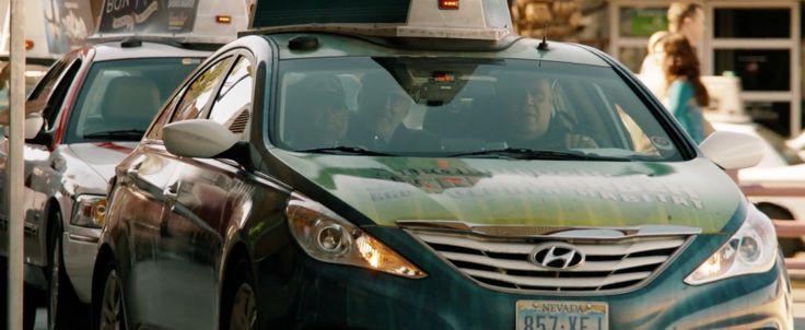 Hyundai Sonata in LAST VEGAS (2013) - Movie Product Placement