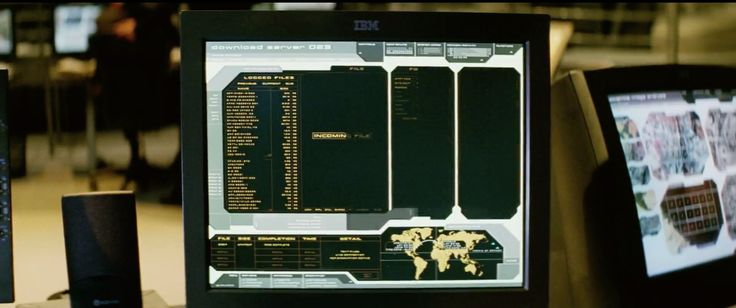 IBM monitor in xXx (2002) Movie Product Placement