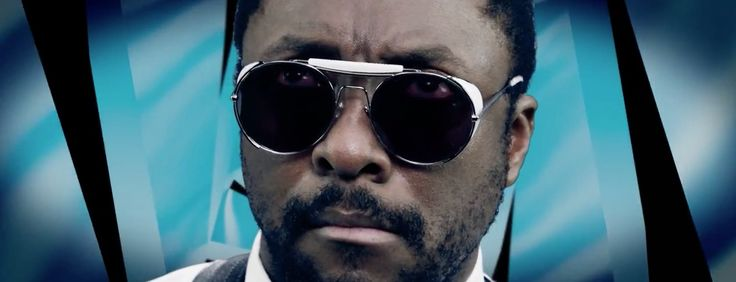 ill.i Optics By will.i.am sunglasses WA508S 04 worn by will.i.am in BORN TO GET WILD by Steve Aoki (2014) - Official Music Video Product Placement