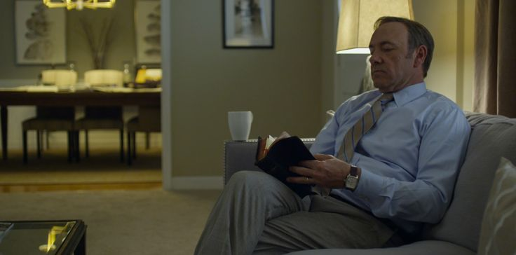 IWC Da Vinci Chronograph Watches  - HOUSE OF CARDS: CHAPTER 3 (2013) TV Show Product Placement