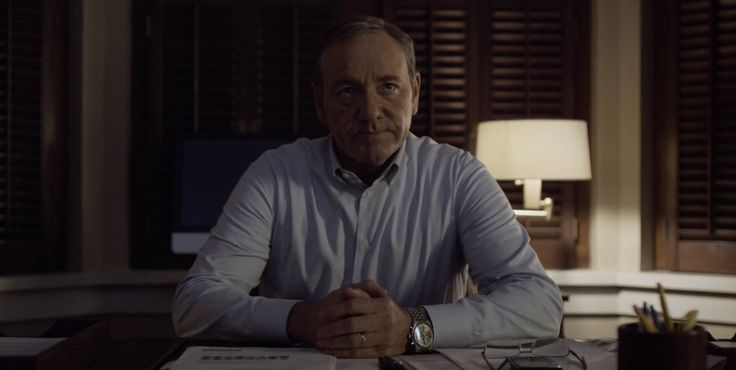 IWC Watches -  HOUSE OF CARDS: CHAPTER 26 (2014) TV Show Product Placement