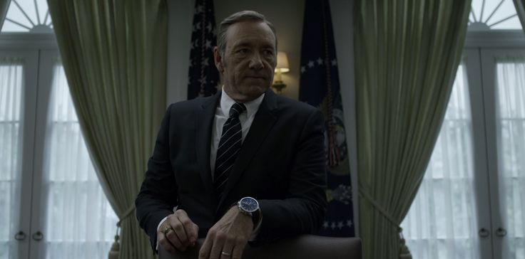 "IWC Watches - ""House of Cards"" Chapter 27 TV Show Product Placement"