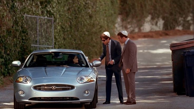 Jaguar XK [X150] car driven by Carla Gugino in ENTOURAGE: RETURN OF THE KING (2007) TV Show Product Placement