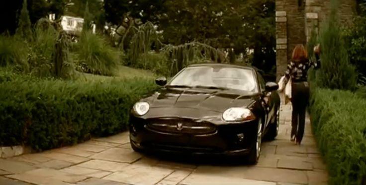 Jaguar XK [X150] car in IRREPLACEABLE by Beyoncé (2006) Music Video Product Placement