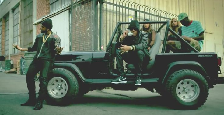 Jeep Wrangler SUV in MOVE THAT DOPE by Future (2014) - Official Music Video Product Placement