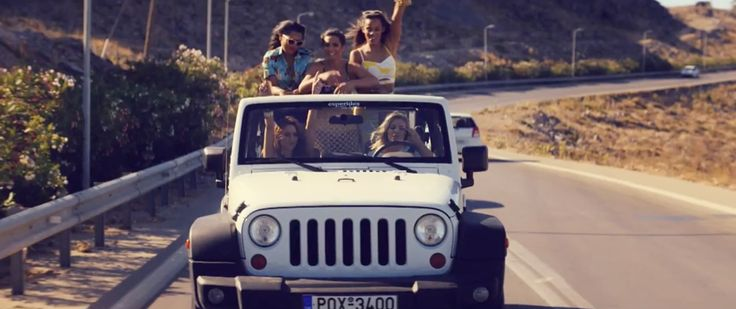 Jeep Wrangler SUV in WHAT ARE YOU WAITING FOR? by The Saturdays (2014) Official Music Video Product Placement