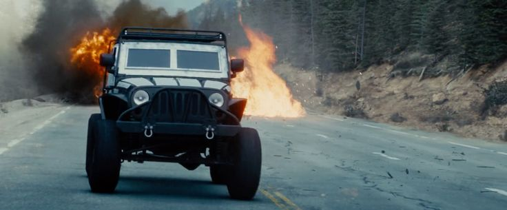 Jeep Wrangler Unlimited SUV in FURIOUS 7 (2015) Movie Product Placement