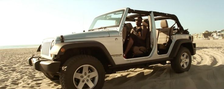 Jeep Wrangler Unlimited in IT WON'T STOP by Sevyn Streeter (2013) Official Music Video Product Placement