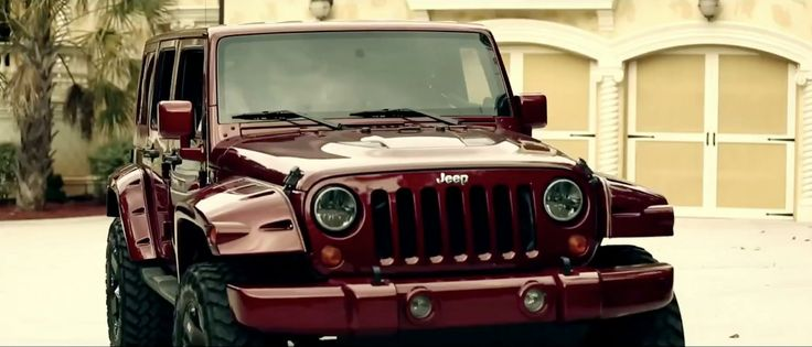 Jeep Wrangler Unlimited SUV in MONEY BABY by K Camp (2013) Official Music Video Product Placement