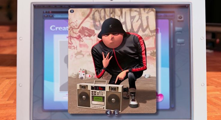 Kangol hat in DESPICABLE ME 2 (2014) Animation Movie Product Placement