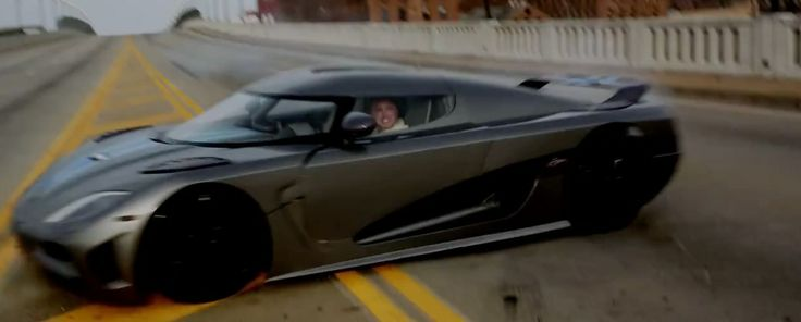 Koenigsegg Agera R car in NEED FOR SPEED (2014) Movie Product Placement