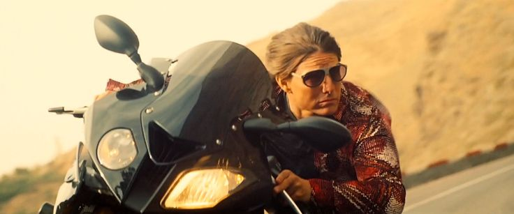L.G.R Sunglasses and BMW Motorcycle - Mission: Impossible - Rogue Nation (2015) Movie Product Placement